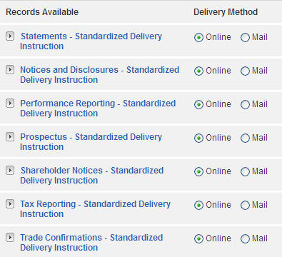 What Are My Statement Delivery Options?